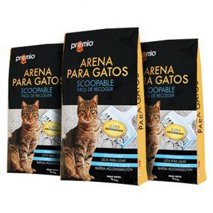 PREMIO® ARENA PARA GATOS 3PACK DE 4KG C/U
