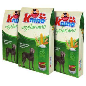 KNINO® VEGETARIANO RAZAS PEQUEÑAS 3PACK 1.5KG C/U